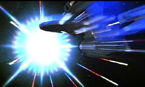 Enterprise D flyby at Warp - YouTube